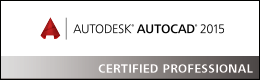 Autodesk AutoCAD 2015 Certified Professional